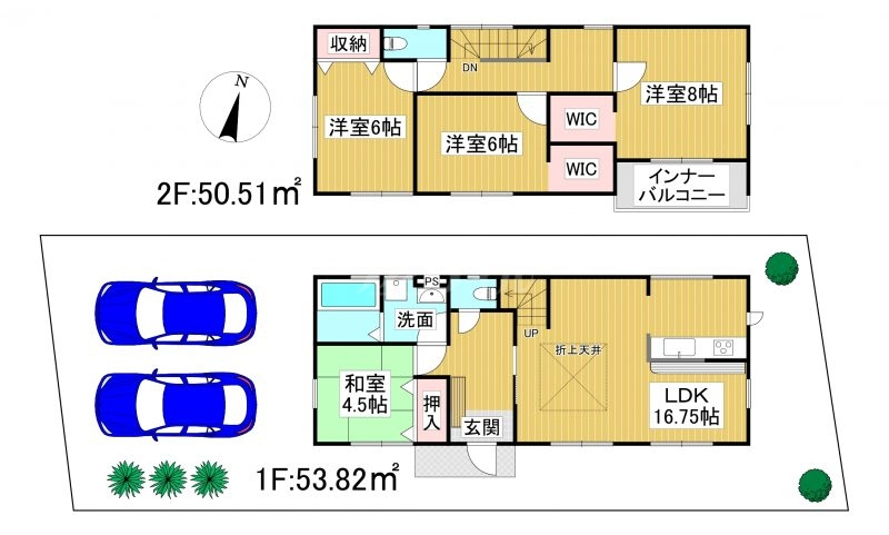 ◆Livele Garden.S 中央区笹丘3丁目 全3棟(2022年2月中旬完成予定)◆ 3号棟