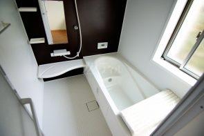 1坪タイプのバスルームは、浴室乾燥機付きなので、今からの乾きにくい季節や、寒い季節でも安心です(同仕様)