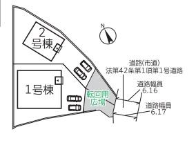 ◆Cradle garden 早良区野芥第16 全2棟(2021年9月完成)◆ - 区間図