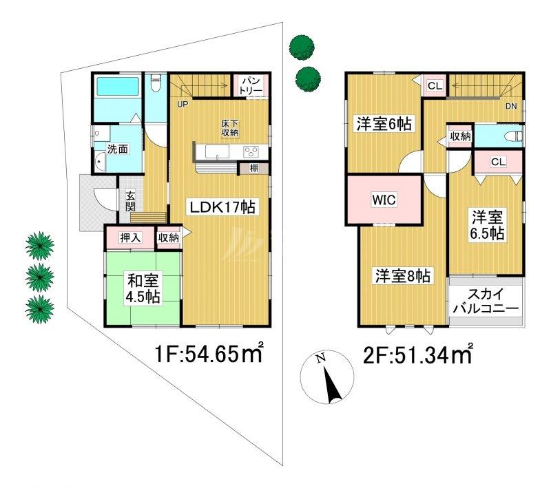 ◆KEIAI FiT 糟屋郡宇美町宇美中央3期 全2棟(2021年10月完成予定)◆ 2号棟
