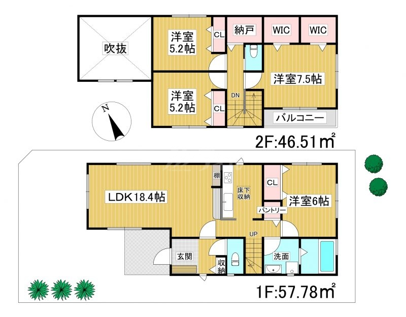 ◆KEIAI FiT 糟屋郡宇美町光正寺1期 全1棟(2021年11月完成予定)◆ 1号棟