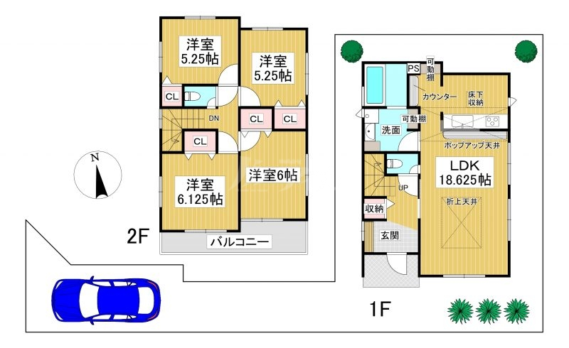 ◆Blooming Garden 早良区原4丁目 全2棟(2021年9月完成)◆ 2号棟