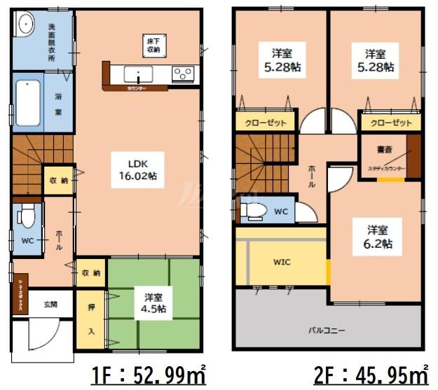 ◆FIT 大野城市南ヶ丘3丁目1期 全2棟(2021年10月下旬完成予定)◆ 2号棟