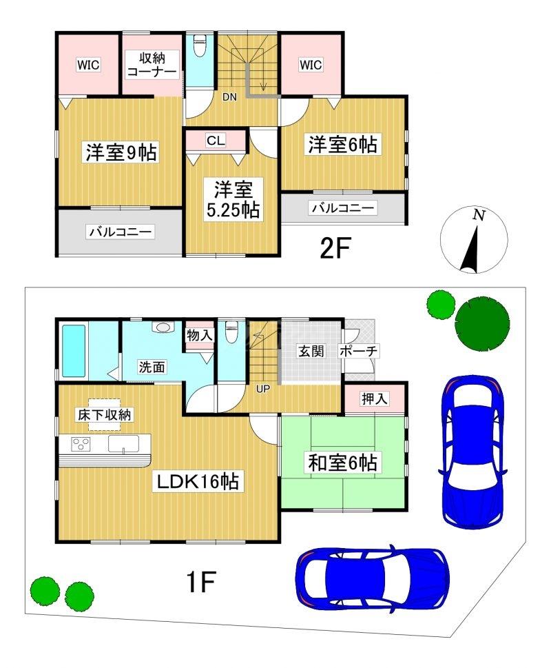 ◆FIRST TOWN 糸島市高田1丁目 全2棟(2021年9月下旬完成予定)◆ 2号棟