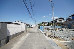 前面道路:西側4.1m法外道路