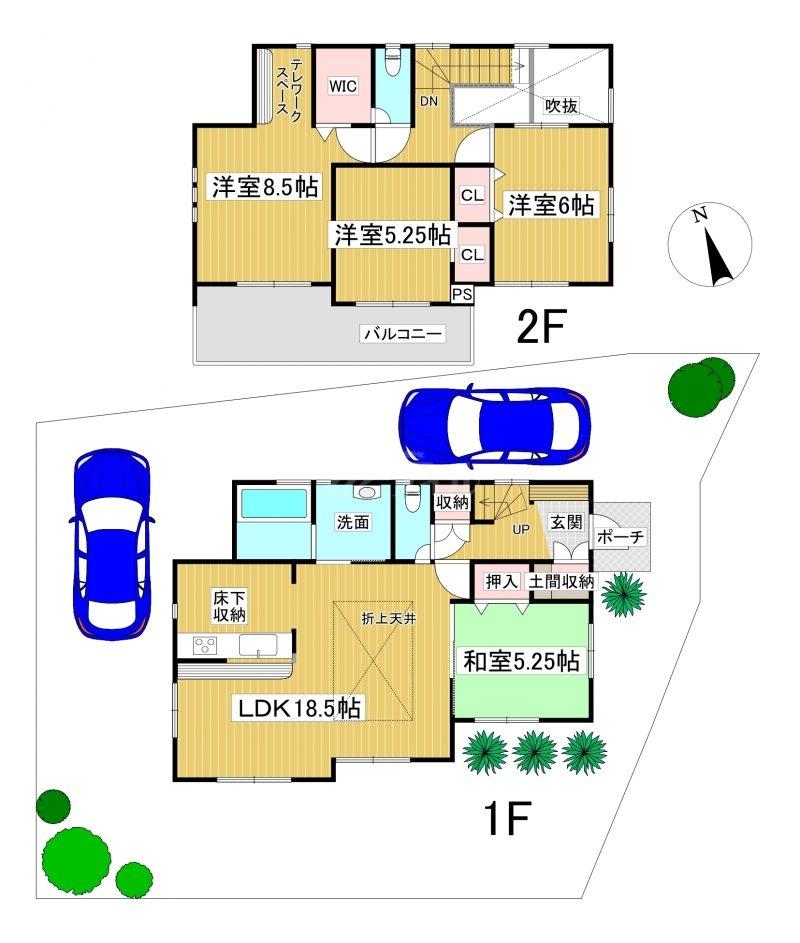 ◆Blooming Garden 南区柏原1丁目 全2棟(2021年9月完成)◆ 1号棟