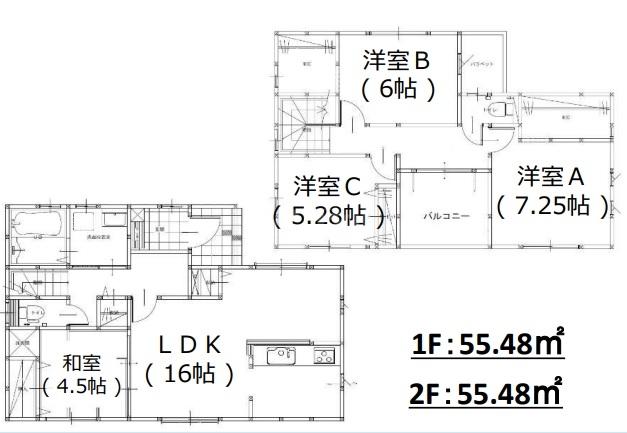 ◆FIT 春日市下白水南2丁目1期 全2棟(2021年12月上旬完成予定)◆ 1号棟