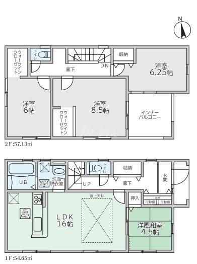 ◆Livele Garden.S 東区美和台第二十四 全2棟(2022年3月中旬完成予定)◆ 2号棟